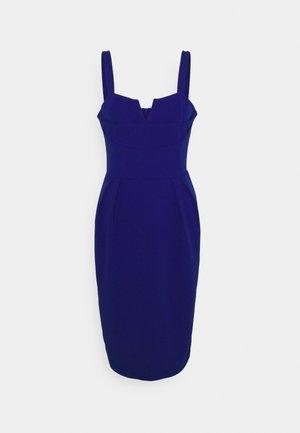 IMAANI STRAPPY MIDI DRESS - Cocktail dress / Party dress - electric blue