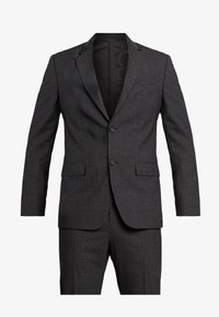 Calvin Klein Tailored - GRID CLASSIC SUIT - Suit - black - 8