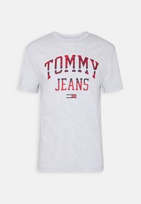 Tommy Jeans - PLAID COLLEGIATE  - T-shirt con stampa - silver grey0001D009U5B - 3