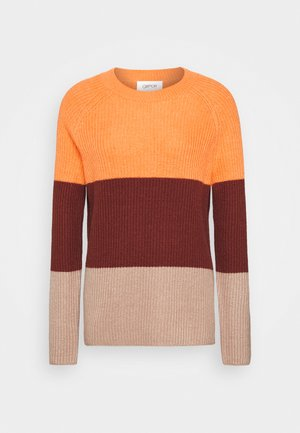 Trui - orange/brown