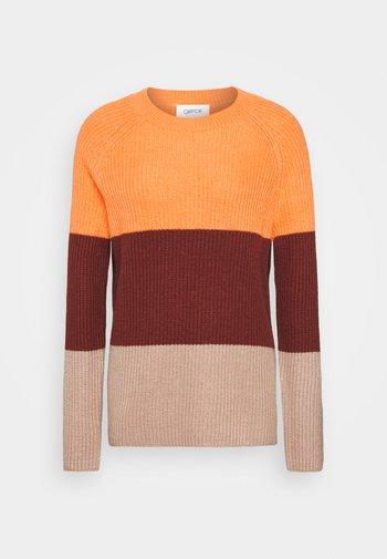 Jumper - orange/brown