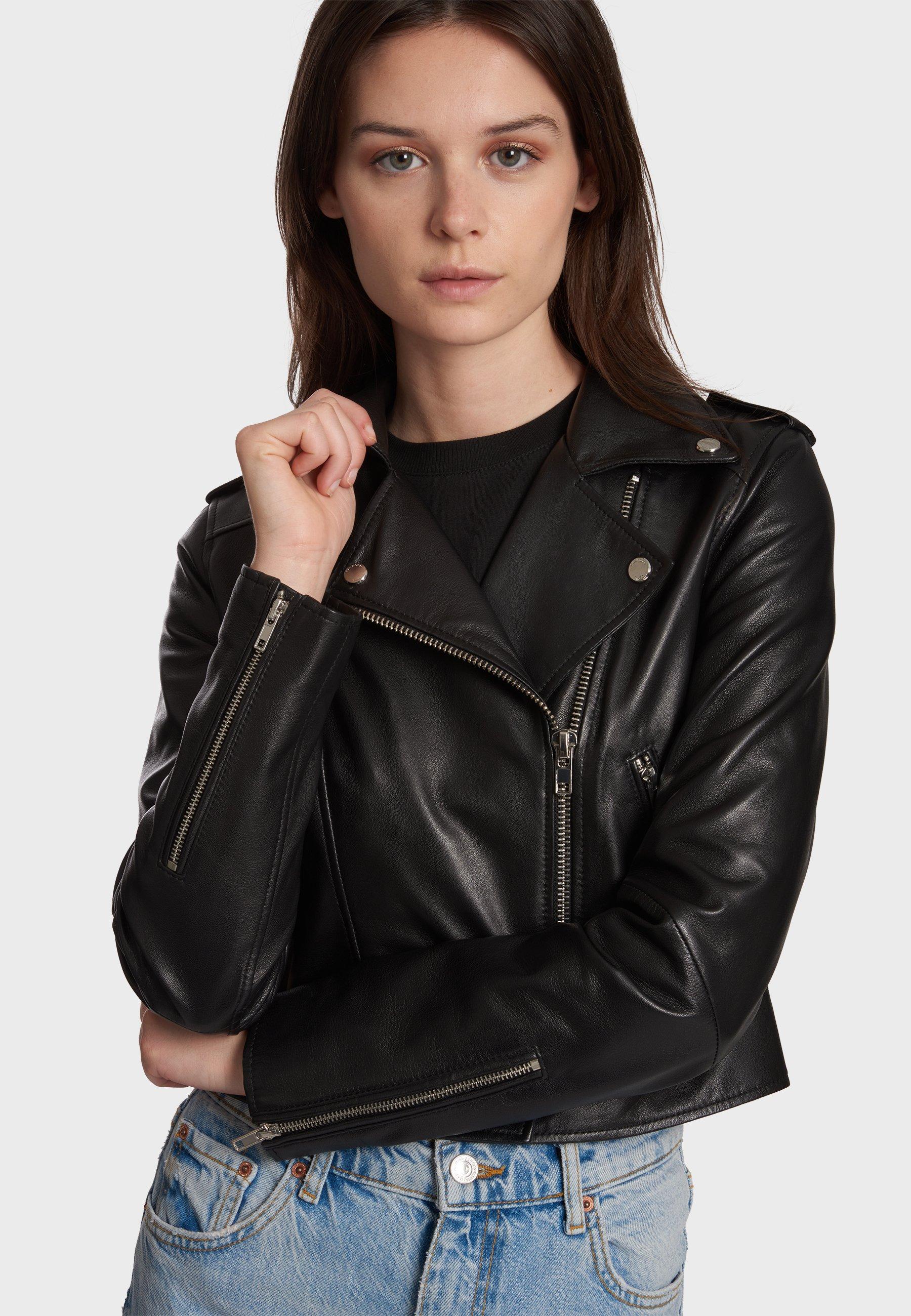 Femme NIKKO - Veste en cuir
