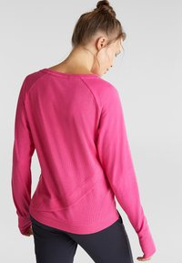 Esprit Sports - ACTIVE - Long sleeved top - pink fuchsia - 2