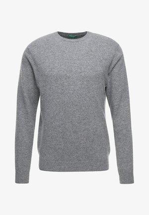 BASIC CREWNECK - Strickpullover - grey