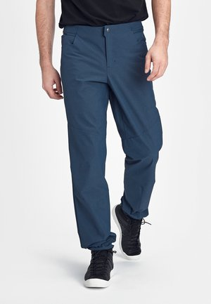 MASSONE - Outdoor trousers - marine