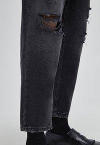 PULL&BEAR - Relaxed fit -farkut - mottled dark grey - 5