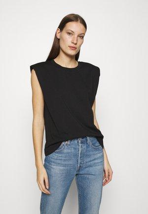 BEIJING  - Basic T-shirt - black