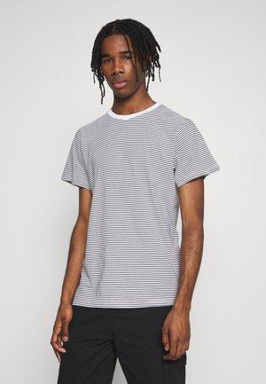 STOCKHOLM STRIPES - Print T-shirt - black