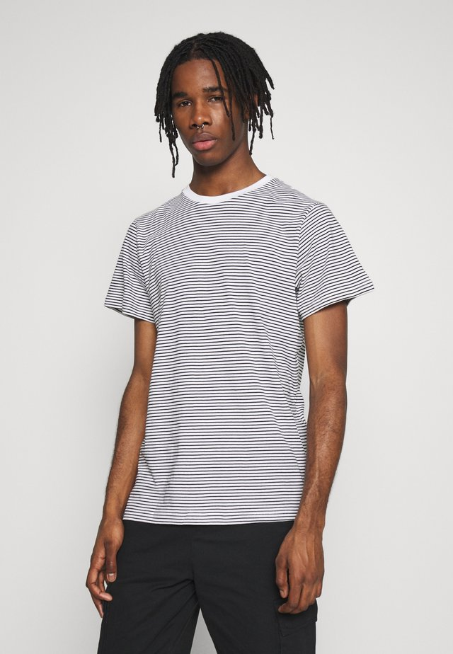 STOCKHOLM STRIPES - T-shirts print - black