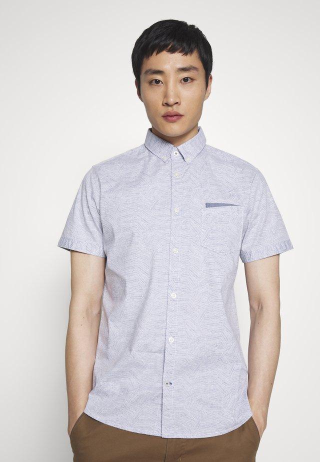 FLOYD PRINTED SHIRT - Koszula - blue