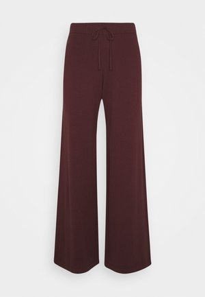 BELLA PANTS - Trousers - decadent chocolate