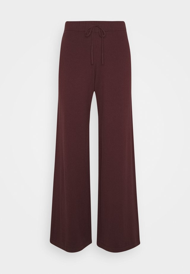 BELLA PANTS - Pantalon classique - decadent chocolate