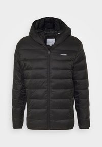Jack & Jones - JJVINCENT PUFFER HOOD - Zimní bunda - black - 4