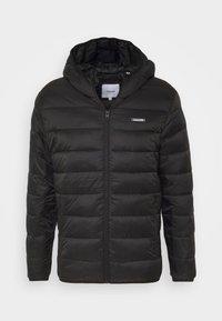 JJVINCENT PUFFER HOOD - Winter jacket - black