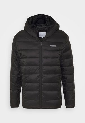 JJVINCENT PUFFER HOOD - Winter jacket - black