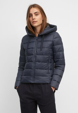 SP, RECYCLED NO DOWN,  RECYCLED, FIX HOOD, WELT POCKET - Light jacket - midnight blue
