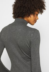 Anna Field - BASIC- TURTLE NECK - Strikkegenser - dark grey - 6