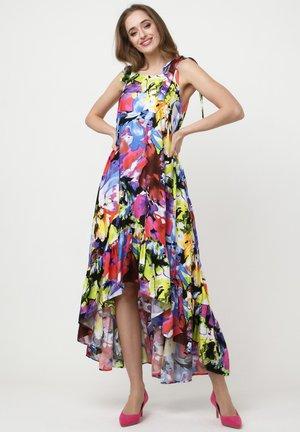 PERCAMA - Day dress - lila, hellgrün