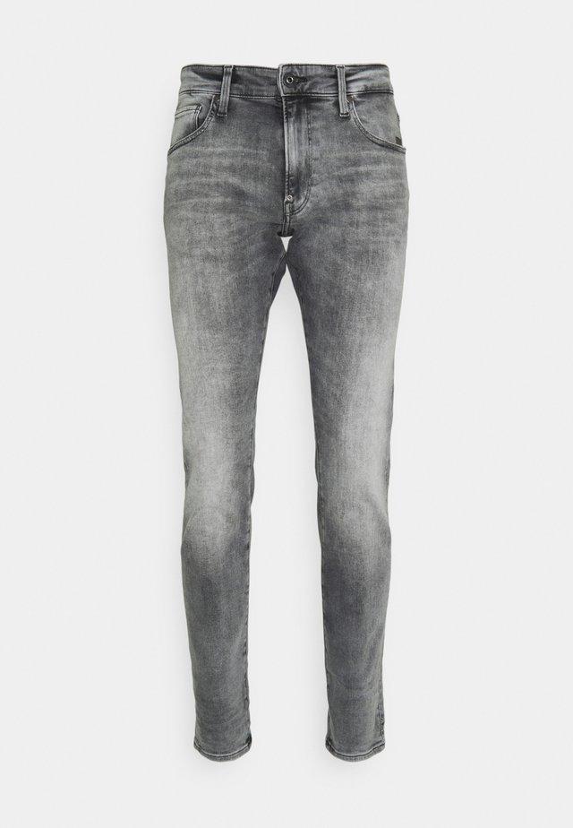 REVEND SKINNY - Jeans Skinny Fit - elto black superstretch/faded seal grey