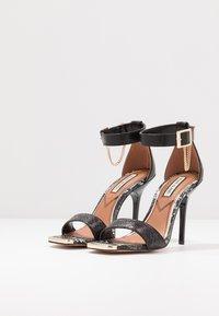 River Island - High heeled sandals - black - 4