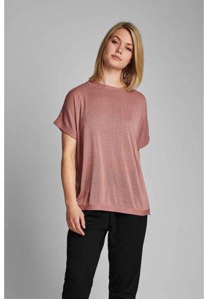 NUDARLENE  - T-shirts basic - ash rose