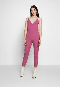 Nike Sportswear - Jumpsuit - mulberry rose - 0