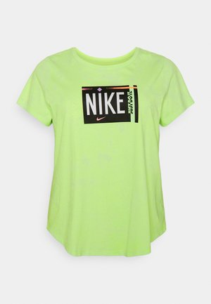 TEE WASH PLUS - Camiseta estampada - ghost green