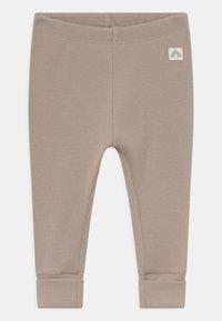 Lindex - SOLID 2 PACK UNISEX - Leggings - Trousers - light dusty aqua - 3