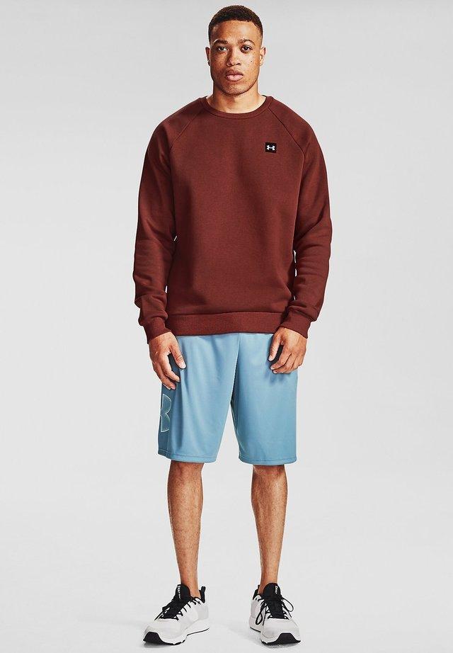 UA RIVAL  - Sweatshirt - cinna red