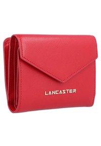 LANCASTER - SAFFIANO SIGNATURE - Wallet - red - 3