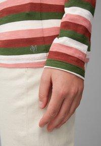 Marc O'Polo - Long sleeved top - multi/burnt brick - 5