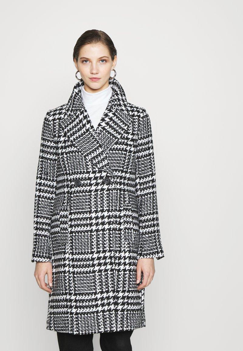 Forever New - JILLIAN HOUNDSTOOTH COAT - Classic coat - black & white