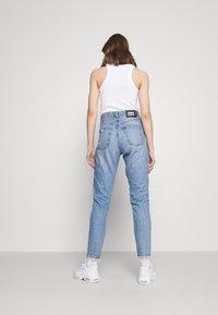 Dr.Denim - NORA - Straight leg jeans - blue jay worn hem - 2