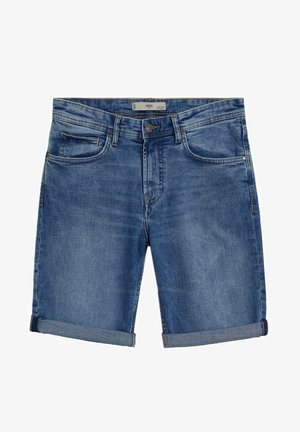 Denim shorts - mittelblau