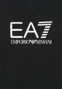 EA7 Emporio Armani - Sweatshirt - black/light gold - 2
