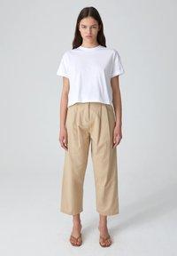 EDITED - SELENA - Basic T-shirt - white - 1