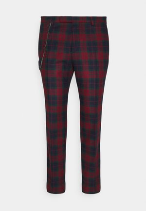 RILEY - Trousers - red