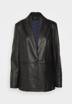 VADIMO - Leren jas - noir