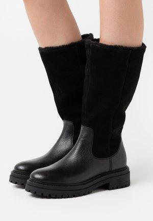 IRIDEA - Vinterstøvler - black