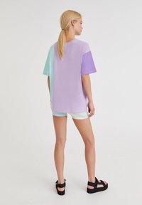PULL&BEAR - Print T-shirt - lilac - 2