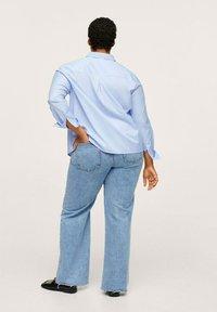 Mango - Button-down blouse - hemelsblauw - 2