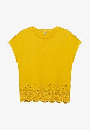 ONLCOSMA LIFE - Camiseta estampada - golden spice