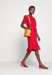 LK Bennett - MALAMI - Day dress - geranium/macadamia - 1