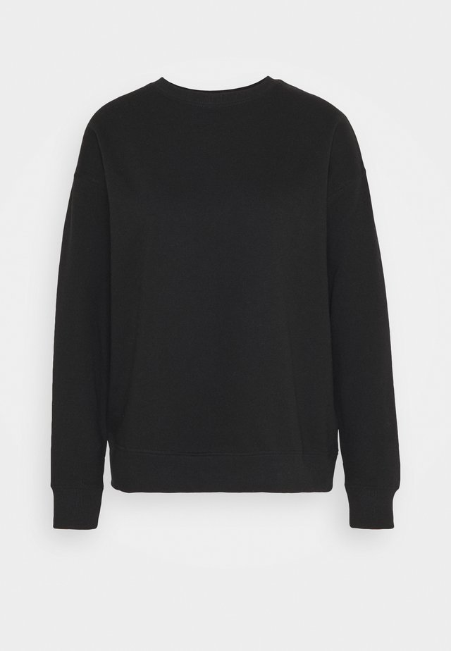 BLANK - Sweatshirt - black