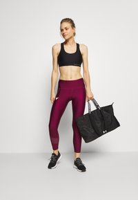 Under Armour - PROJECT ROCK ANKLE CROP - Leggings - level purple - 1