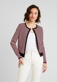 Morgan - Cardigan - rouge/off white - 0