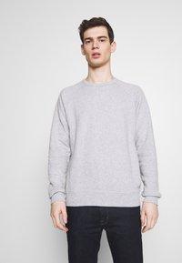 NN07 - ROBIN CREW - Sweatshirt - light grey melange - 0