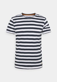 Jack & Jones - JORTONS STRIPE TEE CREW NECK - Print T-shirt - navy blazer - 0