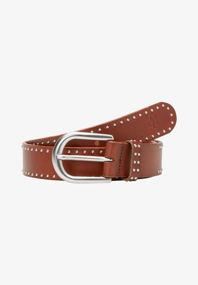 Belt - authentic cognac