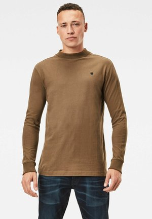 KORPAZ MOCK - Long sleeved top - wild olive